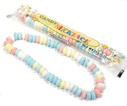 Smarties Candy Necklaces Wrapped
