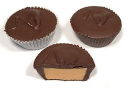 Asher's Large Dark Chocolate Peanut Butter Cups