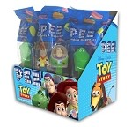 Pez Toy Story Counter Display 12 ct