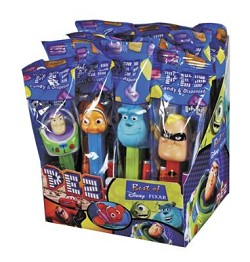 Pez Best of Disney Pixar Counter Display 12 count