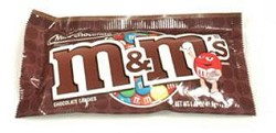 M&M Mars Plain M&Ms 1.69 oz