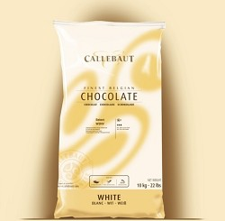 Callebaut White Couverture Callets 28.1% Cacao W2NV-595