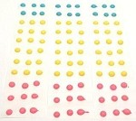 Old Fashioned Candy Buttons Single Bulk