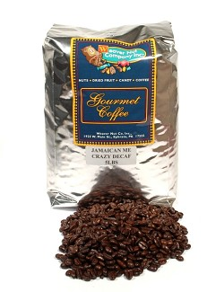 Weaver Nut Decaf Jamaican Me Crazy Whole Bean Coffee