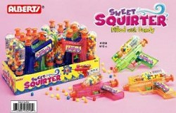 R. L. Alberts Sweet Squirter filled with Chewy Candy