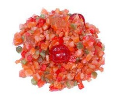 Glazed Pennant Fruit Mix 1/4