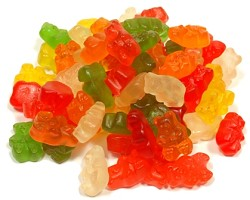Albanese Wild Bears Gummie Bears 6 Flavors Assorted Colors