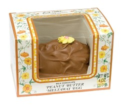 Asher's Milk Chocolate Peanut Butter Egg 4 oz