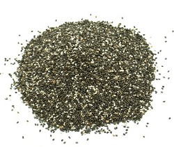 Dark Chia Seeds All Natural Small Pack